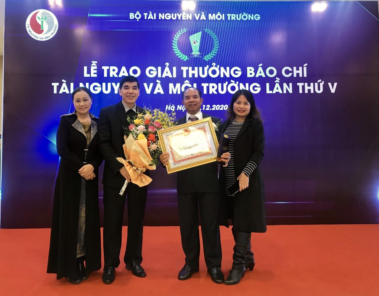 Trao Giải thưởng Môi trường Việt Nam