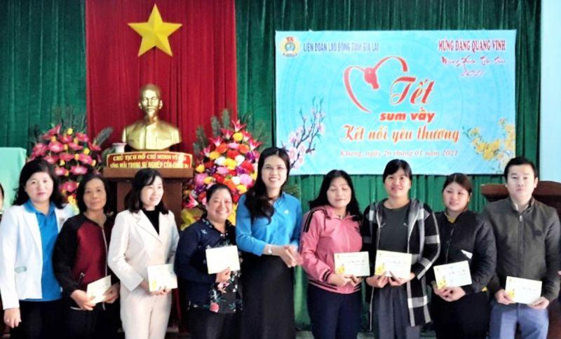 Gia Lai: Liên đoàn Lao động tỉnh tổ chức chương trình
